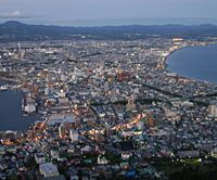 The breathtaking night view from Mount Hakodate | CHRIS BAMFORTH PHOTOS