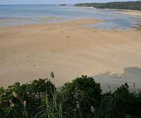 A northern beachead at Iriomote at low-tide. | MINA GENENZ PHOTOS