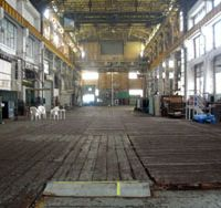 The maintenance and engine workshop at Uraga will be opened to the public for the Kanrin Maru festival on April 26.