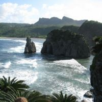 The rugged coastline close to Cape Hedo, the northernmost point of Okinawa's main island | CHRIS COOK PHOTOS