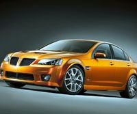The General Motors Pontiac G8 Sports Truck (above) and Pontiac G8 GXP, unveiled at the New York International Auto Show last week, are actually a rebadged Australian GM Holden Ltd. Commodore SS and Commodore SS Ute, respectively.