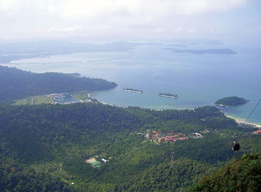 Getting high and then horizontal in Langkawi