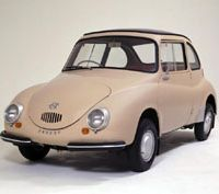 Golden oldie: The Subaru 360, one of Japan's most renowned automotive icons, is a good example of how the Japanese carmaker has followed its own path over the years.