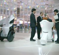 Center stage: Toyota's i-REAL was one of the stars of the 40th Tokyo Motor Show last year. The concept car's naming was meant to hint that Toyota is getting close to wider production of personal- mobility vehicles. | STEPHEN CLEMENGER PHOTO