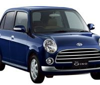 Brav-O: It is no coincidence that many 660 cc minicars are given Italian- or Latin- sounding names such as the Mira Gino. Finishing a car's name with an O makes it sound more familiar, cuter and more fun to Japanese consumers.