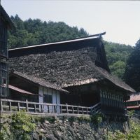 The ancient Chiba-ke-Magariya farmhouse.