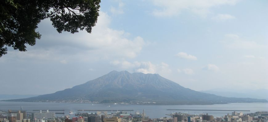 Moving and shaking on Sakurajima