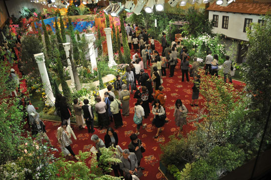 World Gardening Fair at Hotel Okura