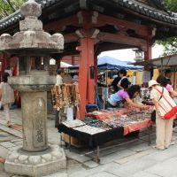 On the trail of treasures at Toji Temple
