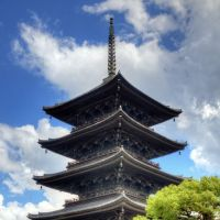 Its famed five-story pagoda. | SEAN PAVONE