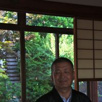 Keeping the peace: Priest Masao Fujiki, 58, tends two temples in a cluster of 11, though he admits that his NPO work keeps him away most of the time.