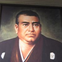 Noble birth, humble man: A picture of Saigo Takamori at the Museum of the Meiji Restoration.