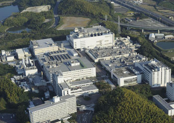Looking ahead: Sharp Corp. will manufacture Igzo liquid crystal display panels at this plant in Tenri, Nara Prefecture.   KYODO