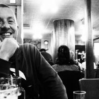 Lee Chapman, the photoblogger behind Tokyo Times, at rest | MARC DAVIES PHOTO