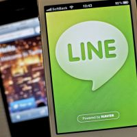 Crossing over: LINE's social network has the potential to take on Facebook and Twitter.