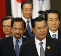 Japan in Cambodia has China aid rival