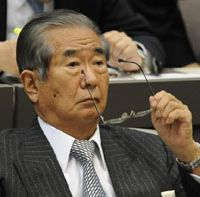 Not over till it's over: Tokyo Gov. Shintaro Ishihara attends a metropolitan assembly session in February. | KYODO PHOTO