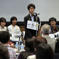 Presentient proves key at second Japan Times Spelling Bee