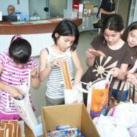 Art aid sent as therapy for disaster-zone kids