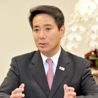 Maehara speaks out for continued export of nuclear reactors