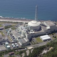 At what cost?: The M onju prototype fast-breeder reactor on the Sea of Japan coast in Tsuruga, F ukui Prefecture, sits idle in June. | KYODO