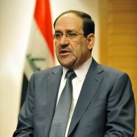 Looking for investors: Iraqi Prime Minister Nouri al-Maliki is interviewed in a Tokyo hotel on Monday. | KYODO PHOTO