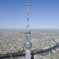 Towering achievement: At 634 meters, Tokyo Sky Tree is the tallest tower in the world. | KYODO