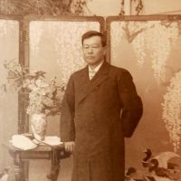 Trip back in time: An undated portrait of Kanae Nagasawa (1852-1934) is seen in this photo provided by the Ichikikushikino City Hall on Wednesday.   KYODO