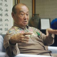 One nation: Gov. Hirokazu Nakaima is interviewed in Naha, Okinawa Prefecture, in March. | KYODO