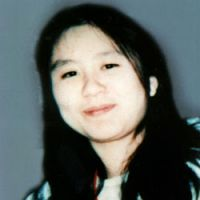 The photo of Kikuchi used in wanted posters for Aum Shinrikyo fugitives.   KYODO