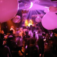 Last dance: People dance in the club Noon on a busy night in Osaka in December.  The club later was targeted by police in a crackdown on the industry that forced it out of business. | NOON/KYODO