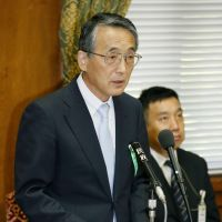 Watchdog: Shunichi Tanaka, tapped to head the new nuclear regulatory authority, addresses a Diet session Wednesday. | KYODO
