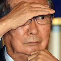 Halt! Who goes there?: Former  Tokyo Gov. Shintaro Ishihara gestures during a news conference  Tuesday in  Tokyo. | AFP-JIJI