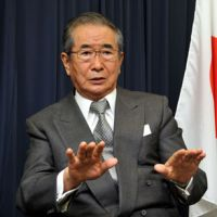 Ishihara talks up weapons exports as deterrent