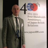Life-changing experience: Timon Screech, cochair of the yearlong Japan400 cultural festival, is seen Jan. 10 in London. | KYODO