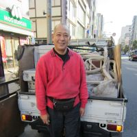 Rag-and-bone man Kei Ochiai