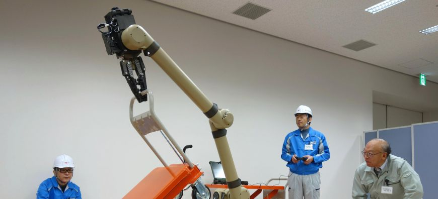 Robot facility aims to aid nation in nuclear crisis