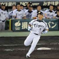 Say goodbye: Tigers great Tomoaki Kanemoto has announced that he will retire at the end of the season. | KYODO
