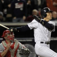 Future prospects: Hideki Matsui played for the Yomiuri Giants for 10 years before embarking on a career in the major leagues with the New York Yankees.   AP