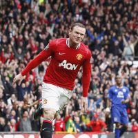 Time is now: Wayne Rooney will attempt to help United beat City for Premier League supremacy. | AP