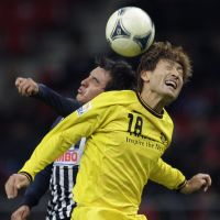 Head boy: Junya Tanaka helped Kashiwa Reysol win the J. League and reach the Club World Cup semifinals last year. | AP