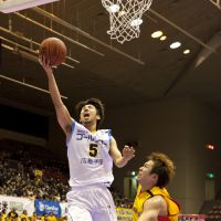 Valuable contributor: Shiga Lakestars guard Shinya Ogawa is the team's fourth-leading scorer this season and is shooting 45.7 percent from 3-point range. | DOMINIKA FITZGERALD