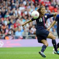 Decision time: Homare Sawa isn't ready to talk about the future just yet. | AFP-JIJI