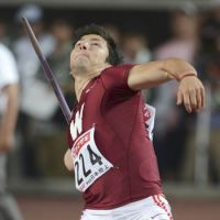 New champ: Genki Dean tosses the javelin on Saturday at the National Athletics Championships in Osaka. Dean defeated Yukifumi Murakami, the 12-time champion, with a winning throw of 84.03 meters. KYODO