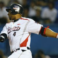 Fly, fly away: Swallows slugger Wladimir Balentien hopes to make a difference with his bat as the team tries to stay in the hunt for the Central League pennant. | KYODO