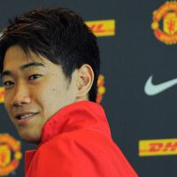 New frontier: Shinji Kagawa will have to work hard to succeed as the first Japanese player ever to join Manchester United. | AFP-JIJI