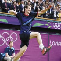 Olympic spirit pushes Murray to tennis glory
