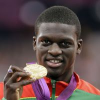 Olympic spirit: Kirani James' 400-meter gold medal gave the tiny nation of Grenada a moment in the world spotlight. | AP
