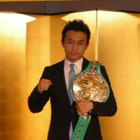 Come together: Toshiaki Nishioka hopes to unify the super bantamweight title when he fights Nonito Donaire in October. | KAZ NAGATSUKA