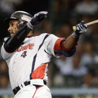 Going deep: Yakult's Wladimir Balentien is on his way to a second consecutive 30-home run season. | KYODO